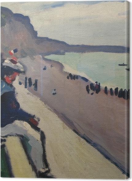 Tableaux premium Albert Marquet - La plage de Fécamp - Reproductions