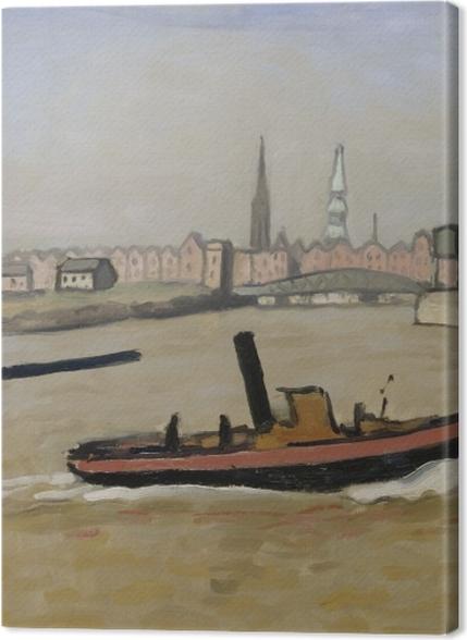 Tableaux premium Albert Marquet - Le port de Hambourg - Reproductions