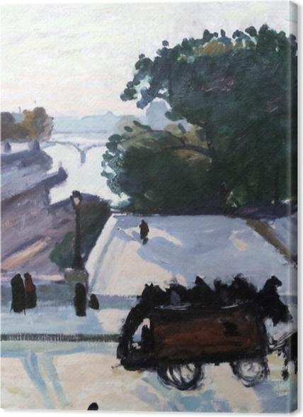 Tableaux premium Albert Marquet - Paris. Le Pont Neuf en été. - Reproductions