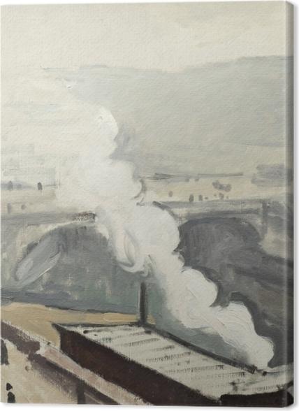 Tableaux premium Albert Marquet - Quai Saint-Michel avec fumée - Reproductions