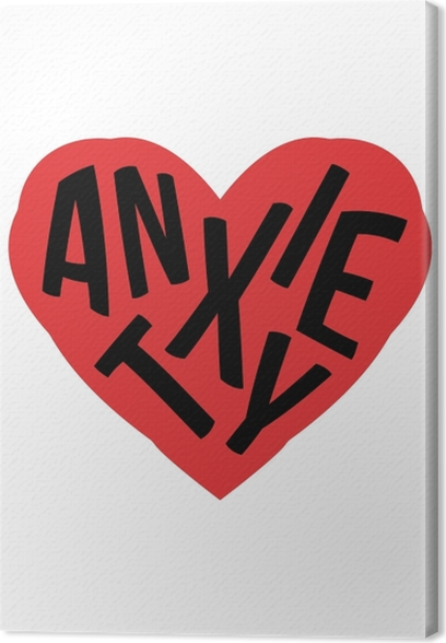 Tableaux premium Anxiété. -