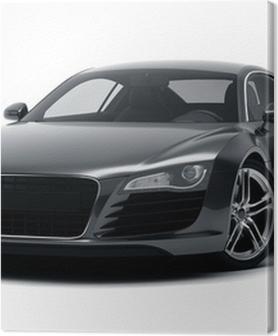 Tableaux premium Black sports car