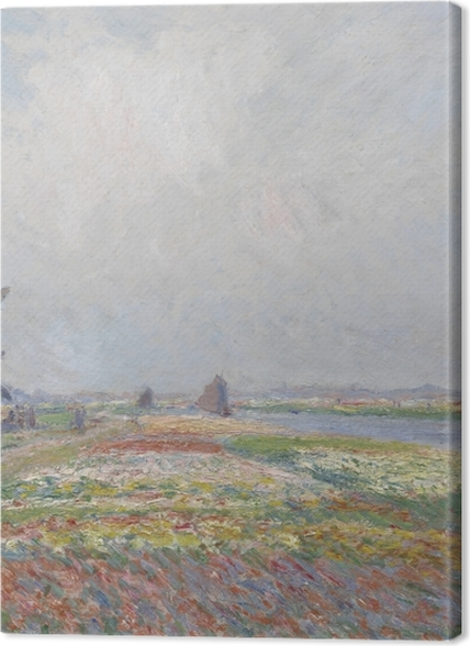 Tableaux premium Claude Monet - Champs de tulipes en Hollande - Reproductions