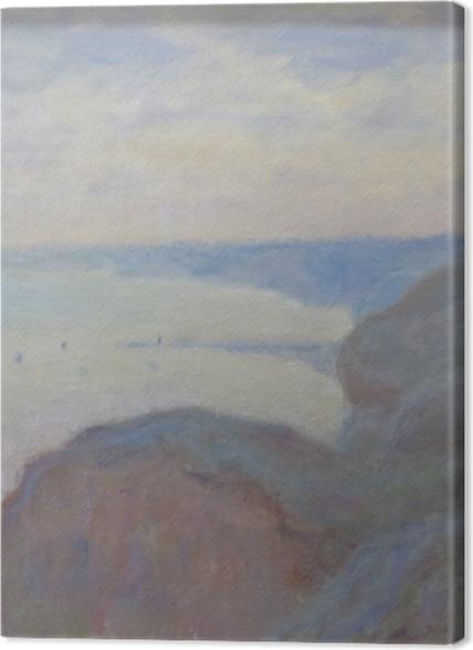 Tableaux premium Claude Monet - Falaises près de Dieppe - Reproductions
