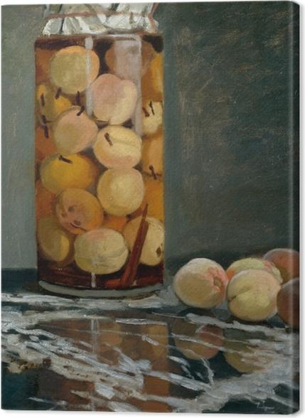 Tableaux premium Claude Monet - Le bocal de pêches - Reproductions