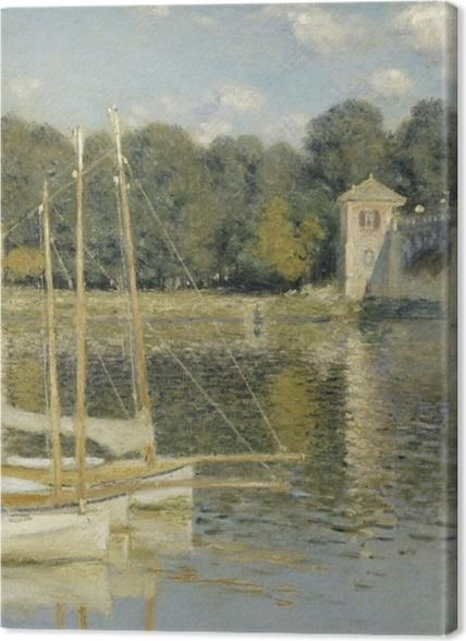Tableaux premium Claude Monet - Le Pont d'Argenteuil - Reproductions