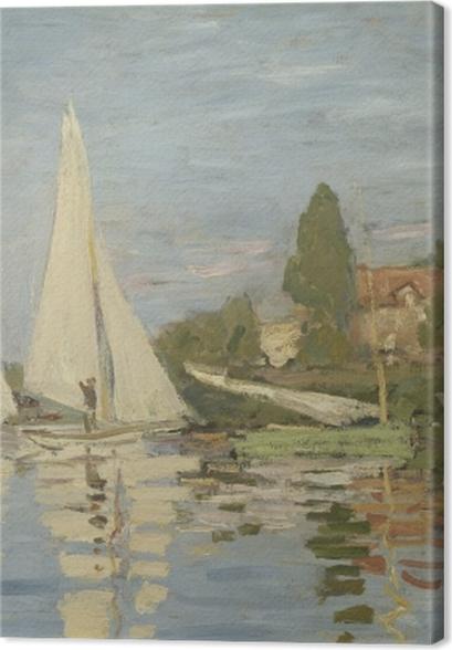 Tableaux premium Claude Monet - Régates à Argenteuil - Reproductions