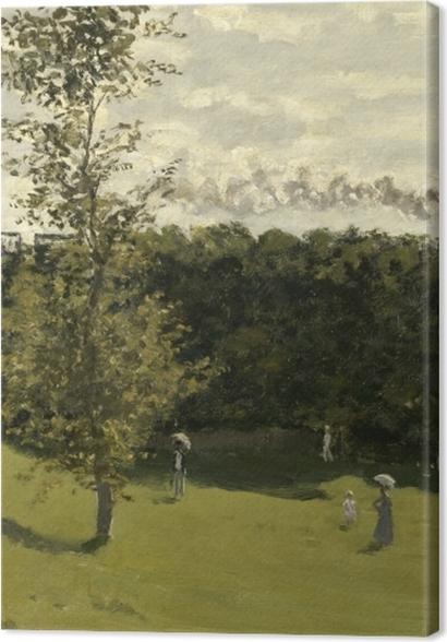 Tableaux premium Claude Monet - Train dans la campagne - Reproductions