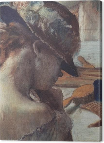 Tableaux premium Edgar Degas - Devant le miroir - Reproductions