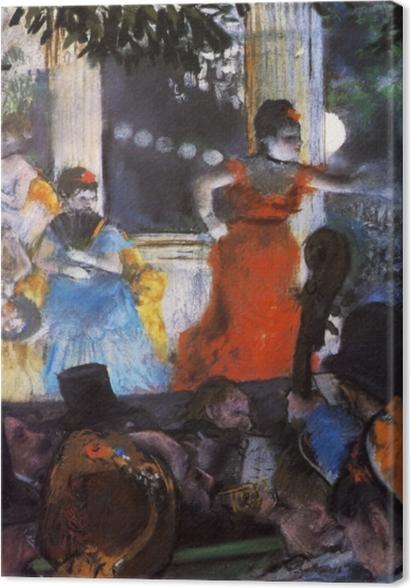 Tableaux premium Edgar Degas - Le Café-concert aux ambassadeurs - Reproductions