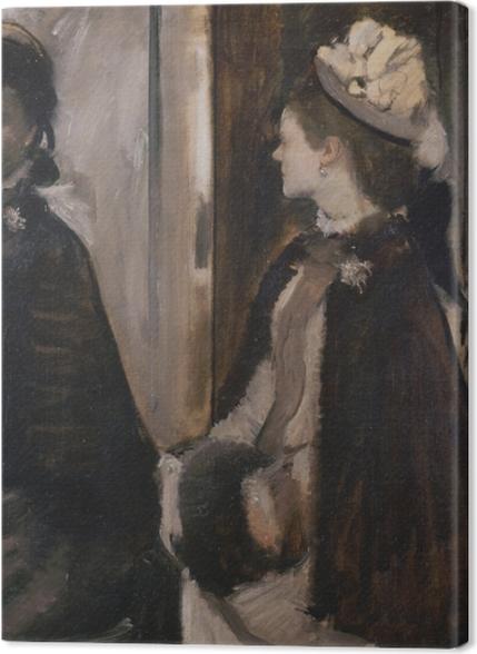Tableaux premium Edgar Degas - Madame Jeantaud au miroir - Reproductions