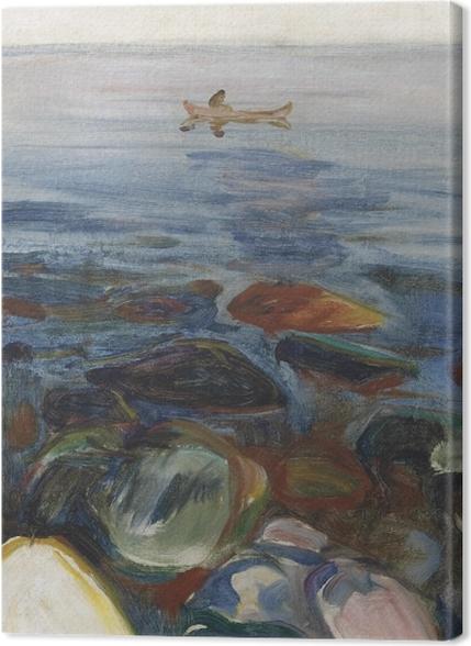 Tableaux premium Edvard Munch - Bateau à la mer - Reproductions