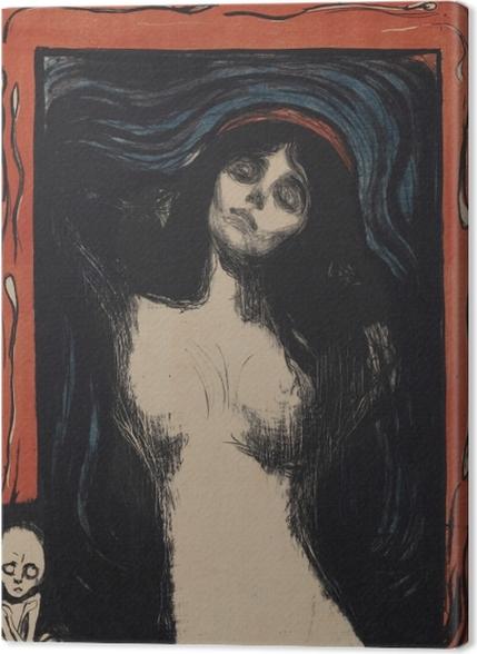 Tableaux premium Edvard Munch - La Madone - Reproductions
