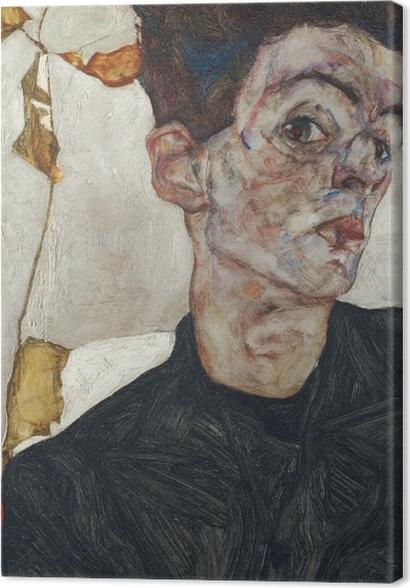 Tableaux premium Egon Schiele - Autoportrait - Reproductions