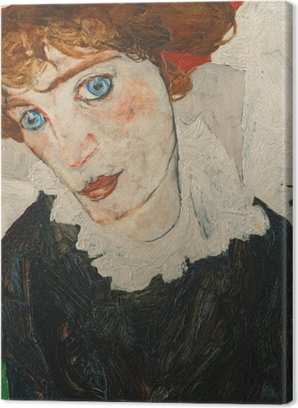 Tableaux premium Egon Schiele - Portrait de Walburga Neuzil (Wally) - Reproductions