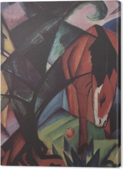 Tableaux premium Franz Marc - Chevaux et aigle - Reproductions