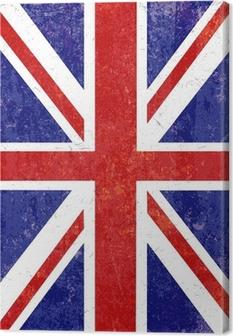 Tableaux premium Grunge Union Jack fond