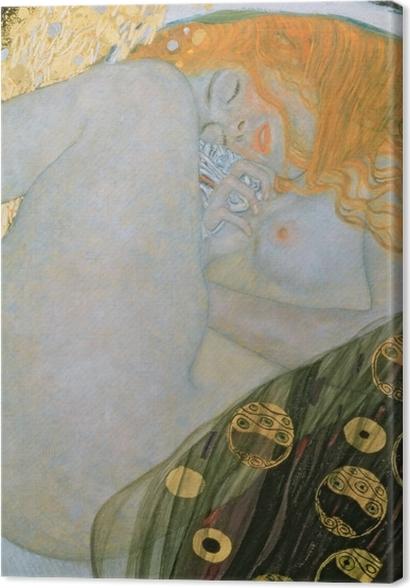 Tableaux premium Gustav Klimt - Danaé - Reproductions