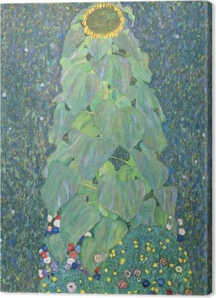 Tableaux premium Gustav Klimt - Le Tournesol - Reproductions