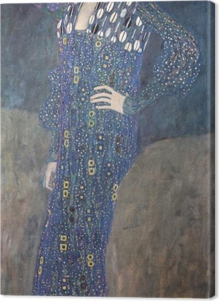Tableaux premium Gustav Klimt - Portrait d'Emilie Flöge - Reproductions