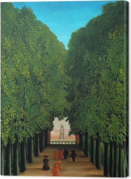 Tableaux premium Henri Rousseau - Allée au parc de Saint-Cloud - Reproductions