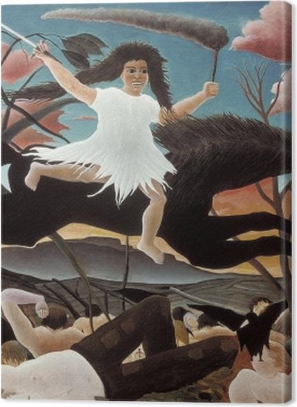 Tableaux premium Henri Rousseau - La Guerre - Reproductions