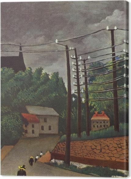Tableaux premium Henri Rousseau - Malakoff - Reproductions