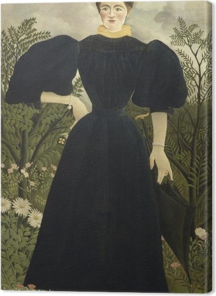 Tableaux premium Henri Rousseau - Portrait de Madame M. - Reproductions
