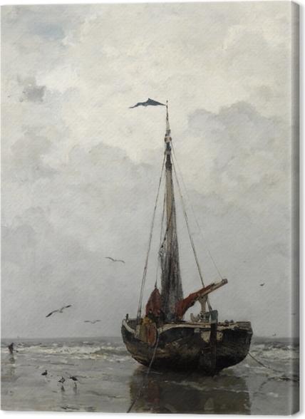 Tableaux premium Jacob Maris - Bateau de pêche - Reproductions