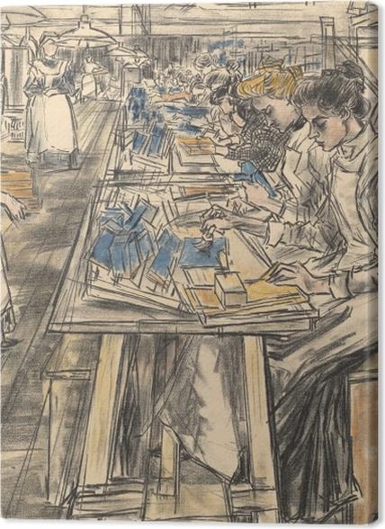 Tableaux premium Jan Toorop - Fabrique de bougies à Gouda, 4 - Entrepôt - Reproductions