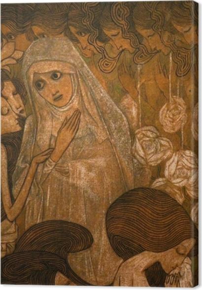 Tableaux premium Jan Toorop - Les trois mariées II - Reproductions