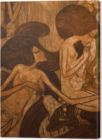Tableaux premium Jan Toorop - Les trois mariées - Reproductions