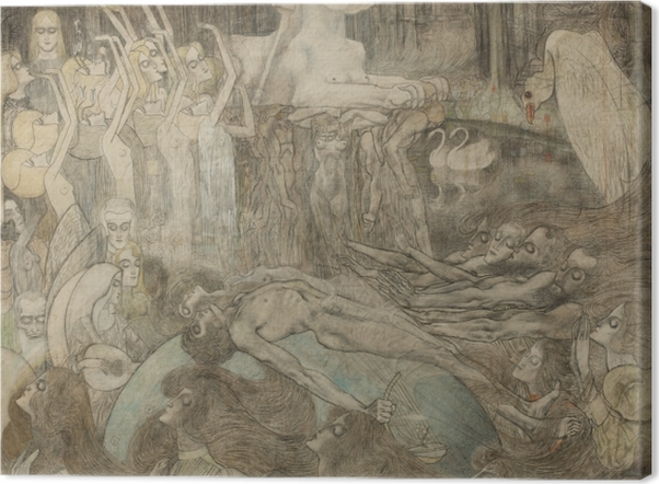 Tableaux premium Jan Toorop - Sphinx - Reproductions