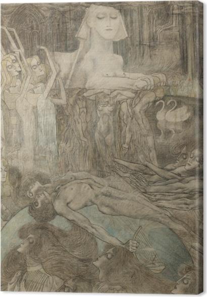 Tableaux premium Jan Toorop - Sphinx - Reproductions