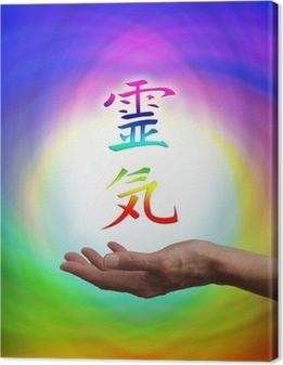 Tableaux premium Kanji énergie