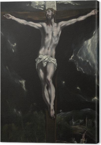Tableaux premium Le Greco - la Crucifixion - Reproductions