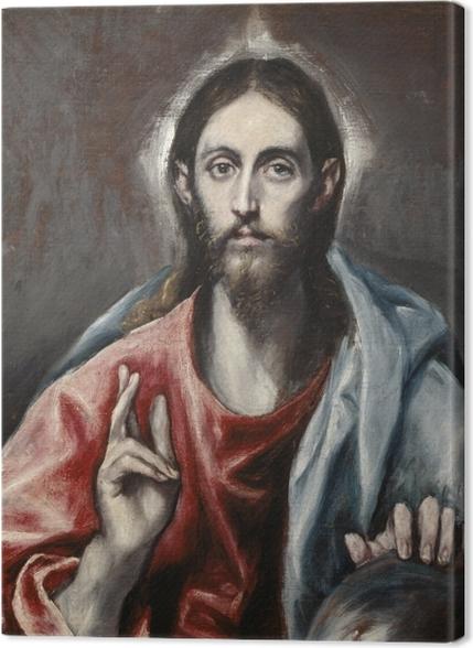 Tableaux premium Le Greco - Le Christ bénissant - Reproductions