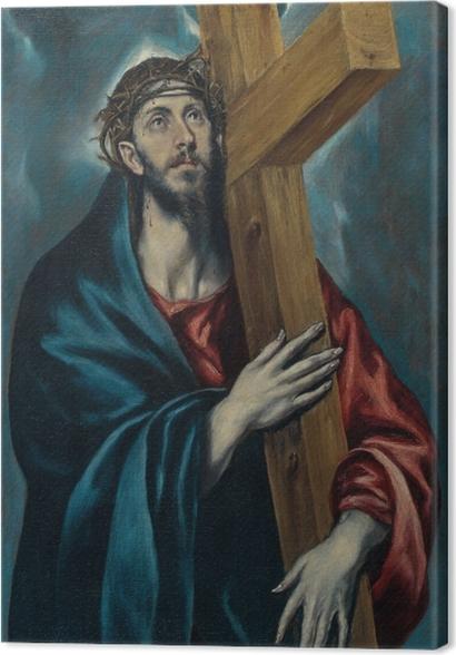 Tableaux premium Le Greco - Le Christ portant la Croix - Reproductions