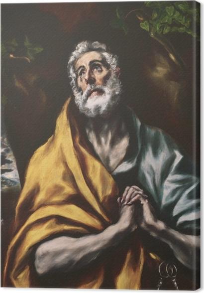 Tableaux premium Le Greco - Le Repenti Peter - Reproductions