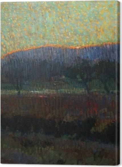 Tableaux premium Leo Gestel - Vallée avec des arbres - Reproductions