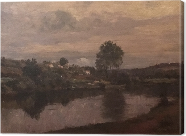 Tableaux premium Matthijs Maris - Figure au bord du lac - Reproductions