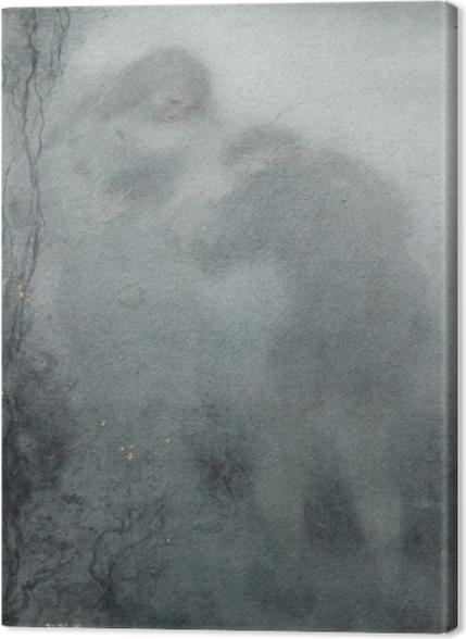 Tableaux premium Matthijs Maris - Figures dans les bois - Reproductions
