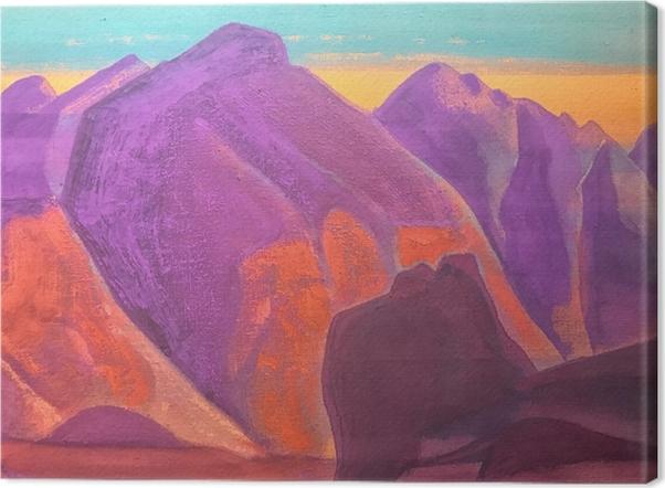Tableaux premium Nicolas Roerich - Étude de montagne II - Nicholas Roerich
