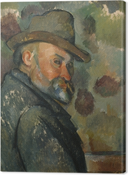 Tableaux premium Paul Cézanne - Autoportrait - Reproductions