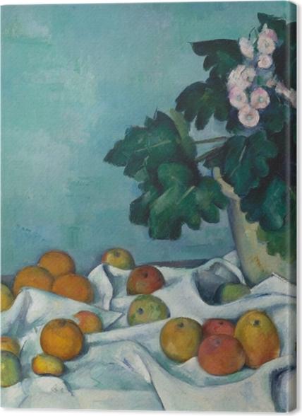 Tableaux premium Paul Cézanne - Fruit sur un tissu - Reproductions