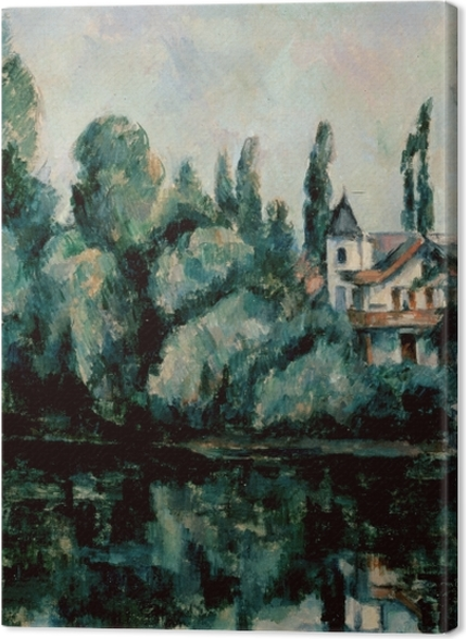 Tableaux premium Paul Cézanne - Les rives de la Marne - Reproductions
