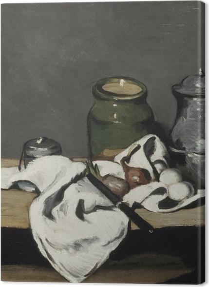 Tableaux premium Paul Cézanne - Nature morte à la bouilloire - Reproductions