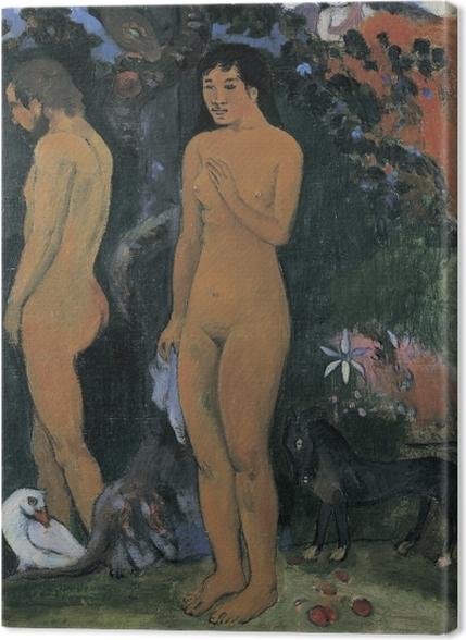 Tableaux premium Paul Gauguin - Adam et Ève - Reproductions
