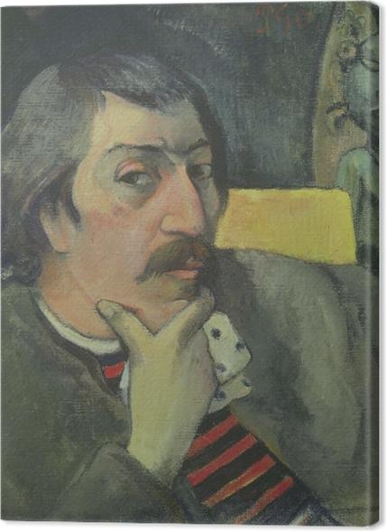 Tableaux premium Paul Gauguin - Autoportrait à l'idole - Reproductions
