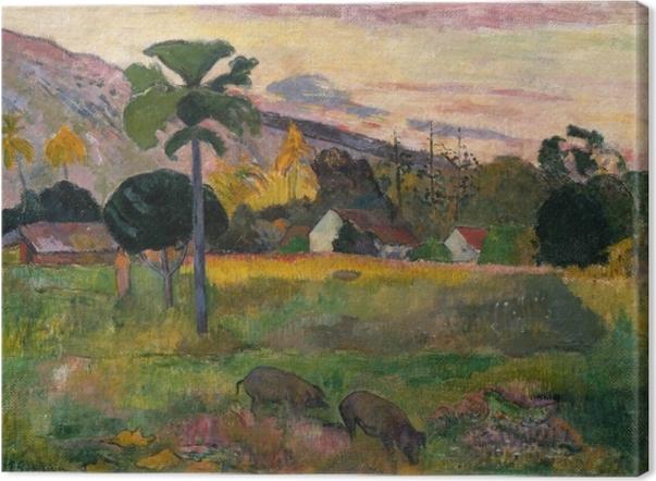 Tableaux premium Paul Gauguin - Haere mai (Viens ici) - Reproductions